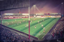 Lincoln City v West Ham 1982 Milk Cup  20'' x 30'' approx poster print